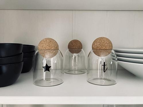 Cork ball jars