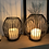 Thumbnail: Large wire candle holder