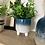 Thumbnail: Glazed mini blue planter