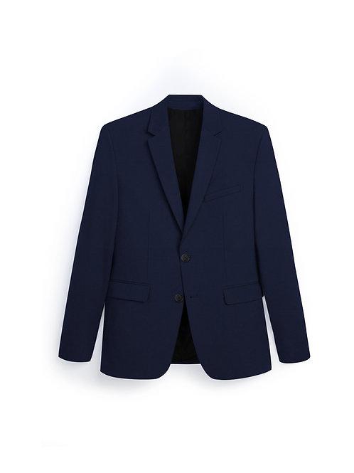 Étoffe Uni Bleu BLK037