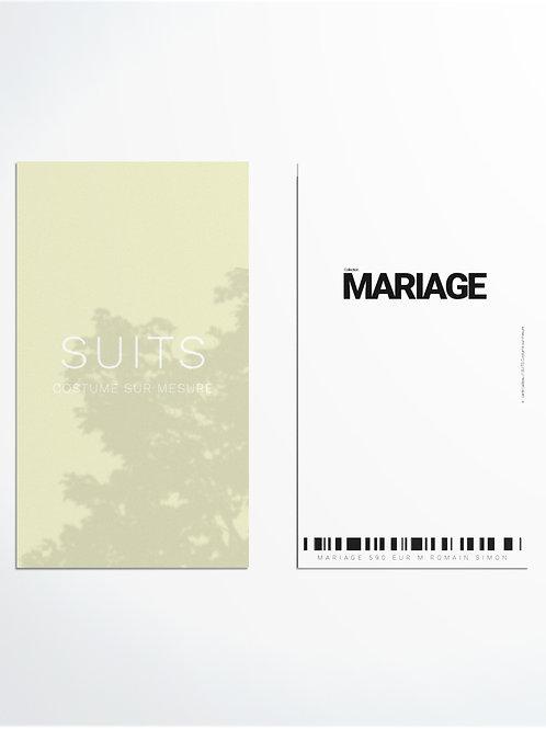 MARIAGE 590 EUR