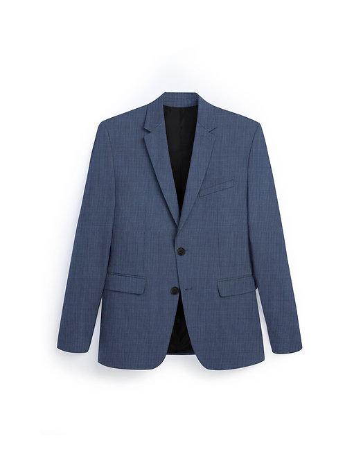 Étoffe Bleu Gris BLK023