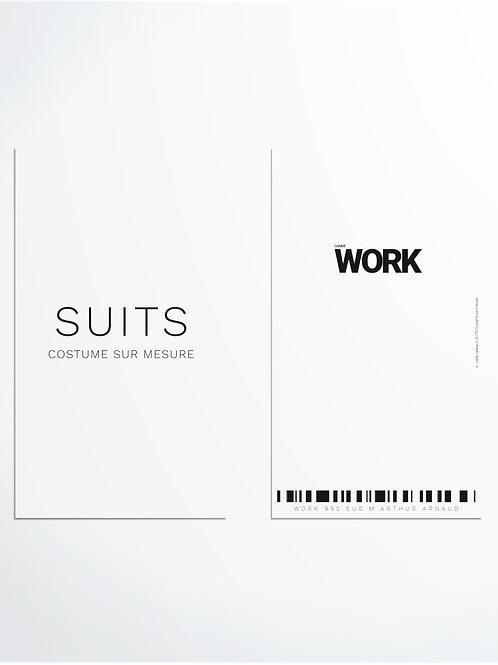 3 PIÈCES WORK 990 EUR