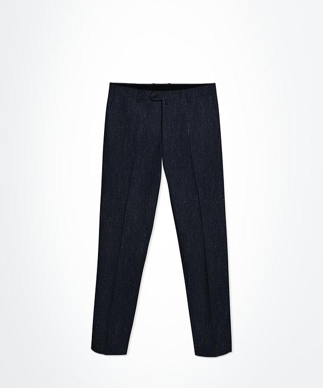 pantalon bleu rayures