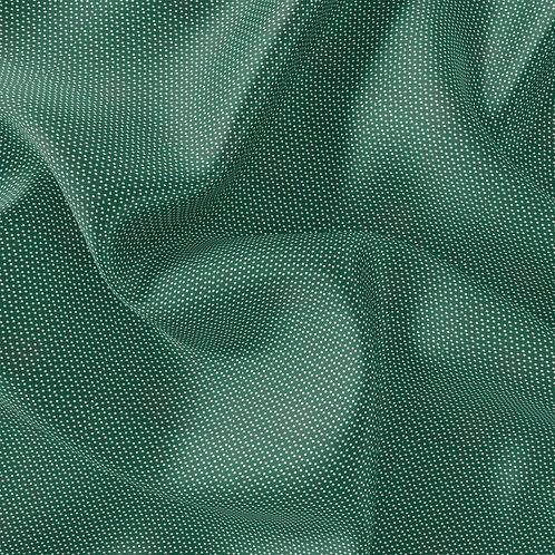Doublure soie pois Vert