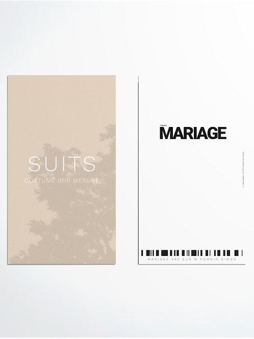 MARIAGE 490 EUR