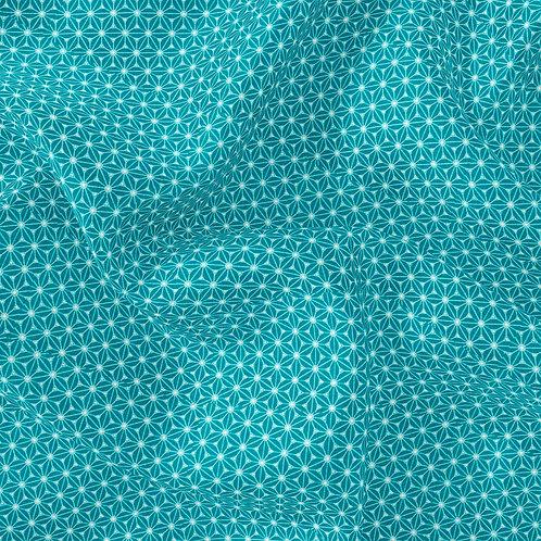 Doublure japonais Vert paon