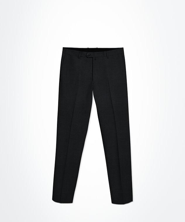 Pantalon noir micro motifs