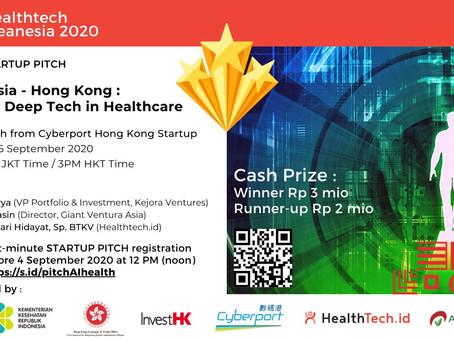 "Madeena pitch to ""Indonesia-Hongkong : AI and Deep Tech in Healthcare"""