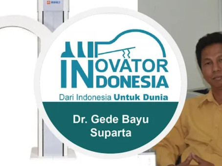Gede Bayu Suparta, Ph.D as an asset to Indonesia for Indonesian Best Innovator of the country