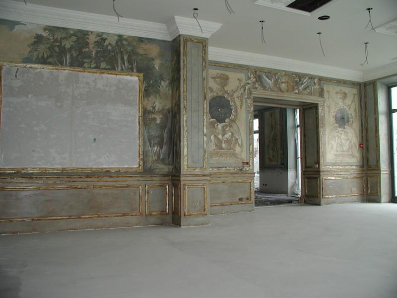 Murals on progress