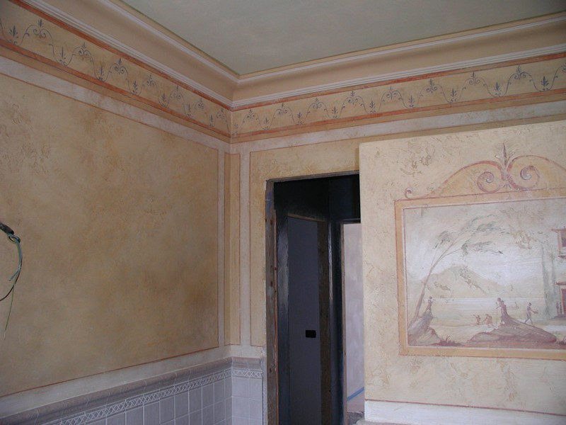 On the progress Hammam and Murals
