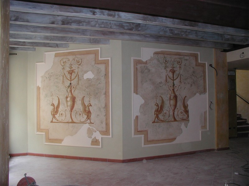 Wall murals for your Palace and Villas
