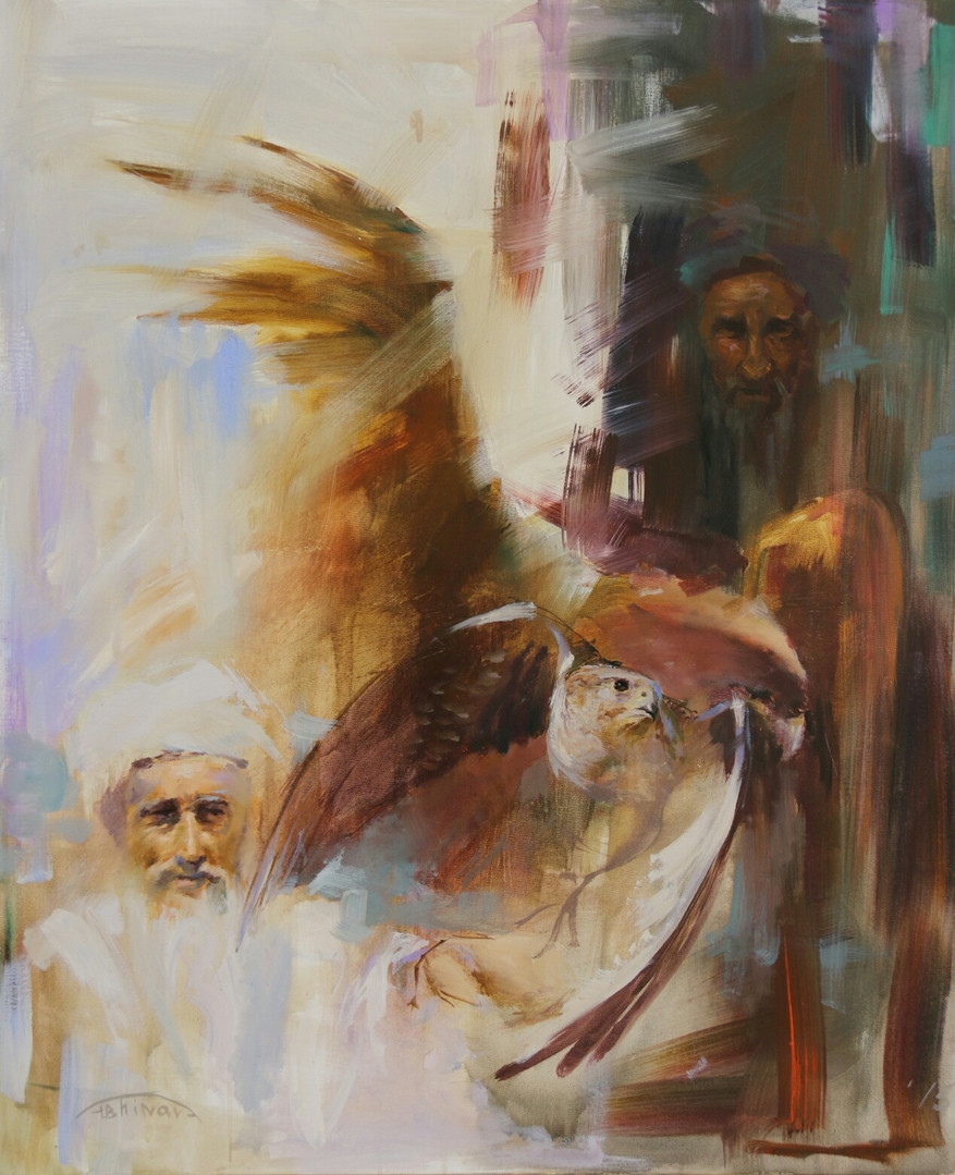 """Two wings"" 2015 ( Sheikh Faisal Museum)"