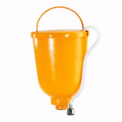 Oberbehälter 5L gelb M36x2 inkl.Filterscheibe und Rücklauf