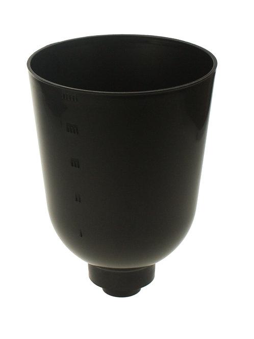 Oberbehälter 5L schwarz Ex. M36x2 inkl.Filterscheibe und Rücklauf