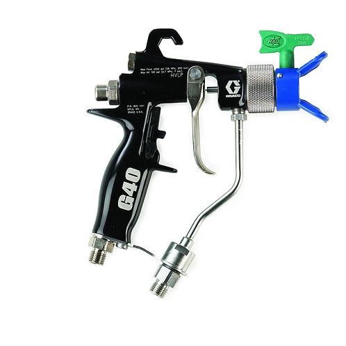 Graco G40 Luftunterstützte Spritzpistole mit RAC X Düsenhalter und FFA210 Düse