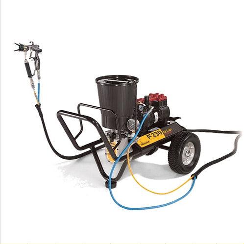 Finish 230 AirCoat compact Spraypack auf Wagen