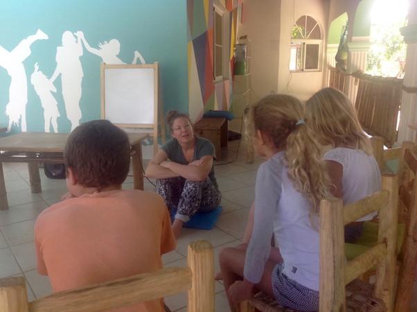 Social Activist, Robin Wiszowaty, Visits ISLA Academy