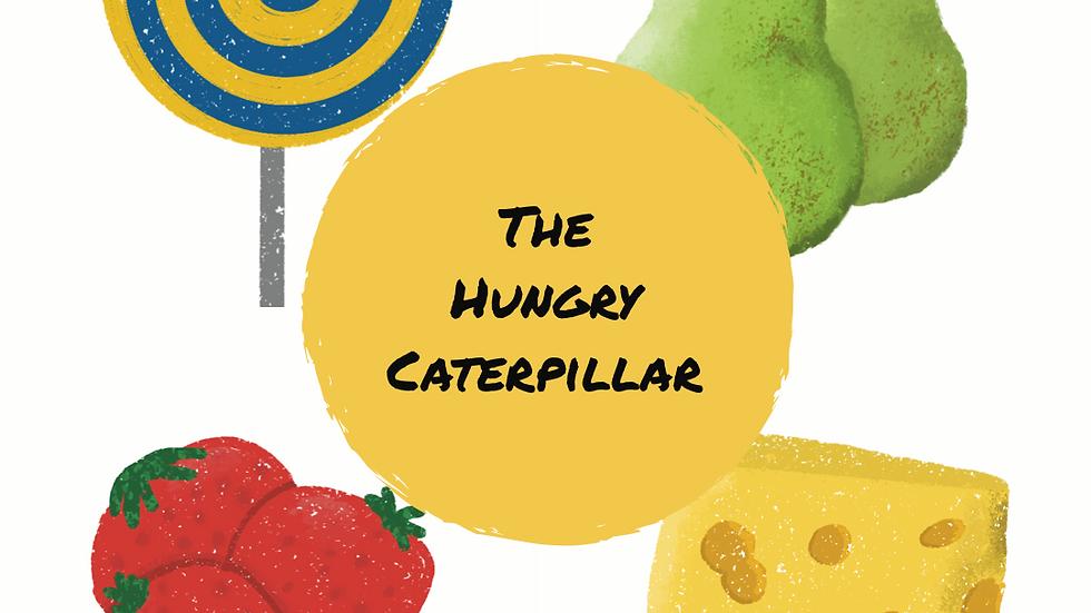 Hurry Caterpillar inspired cards