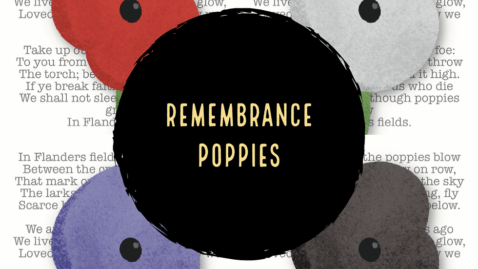 Remembrance Day Poppies (2021)