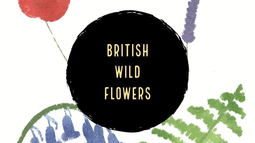 British Wildflowers (Digital)
