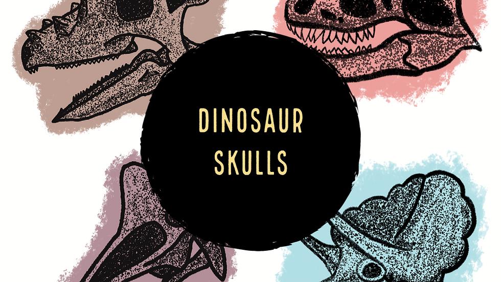 Dinosaur Skulls (Digital)