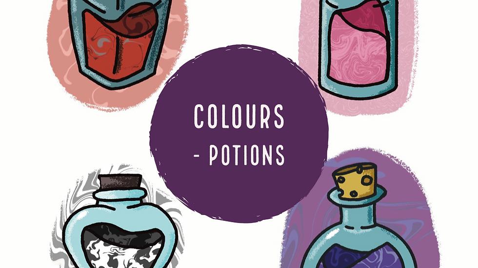 Colours - Potions