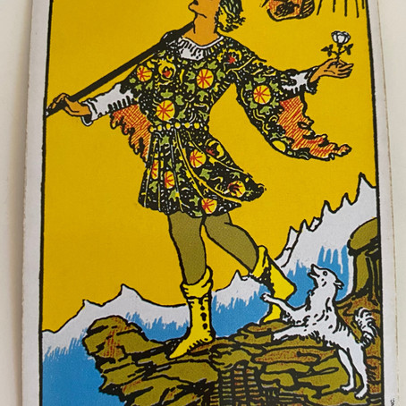 What does The FOOL tarot card feel like?