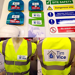 Workwear PPE Hi Viz Vests Printing Chesterfield Evolution Signs and Graphics