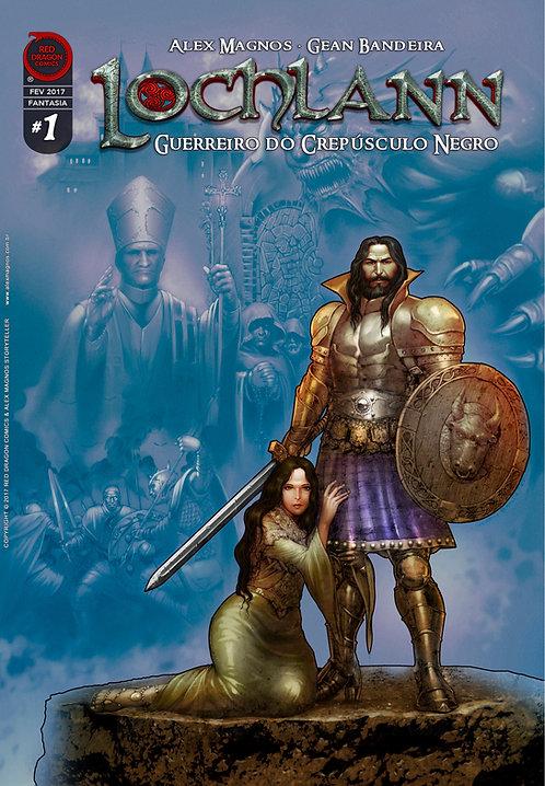 Lochlann: Guerreiro do Crepúsculo Negro #1