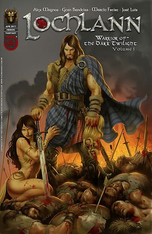 Lochlann graphic novel