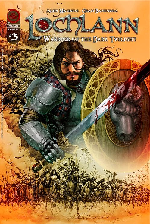 Lochlann: Guerreiro do Crepúsculo Negro #3