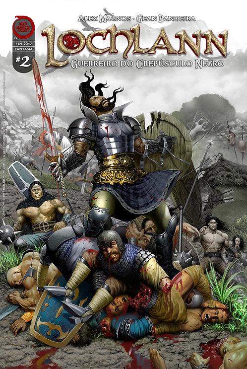 Lochlann: Guerreiro do Crepúsculo Negro #2