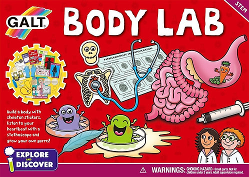 Explore and Discover - Body Lab