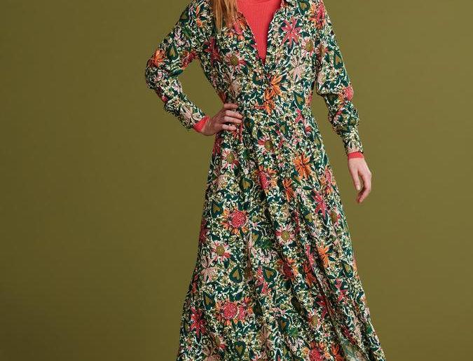 Robe FLOWER LOVE IVORY