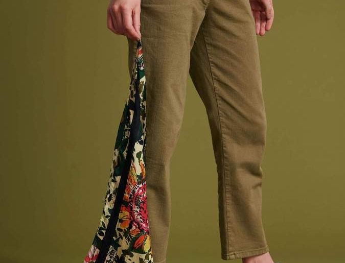 Pantalon ALEXA KHAKI GREEN