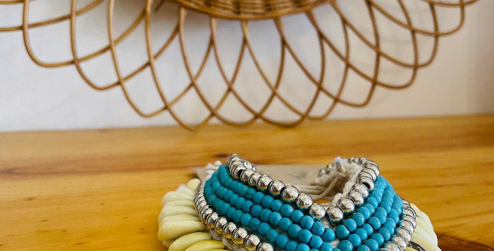 Manchette Coquillages et Perles
