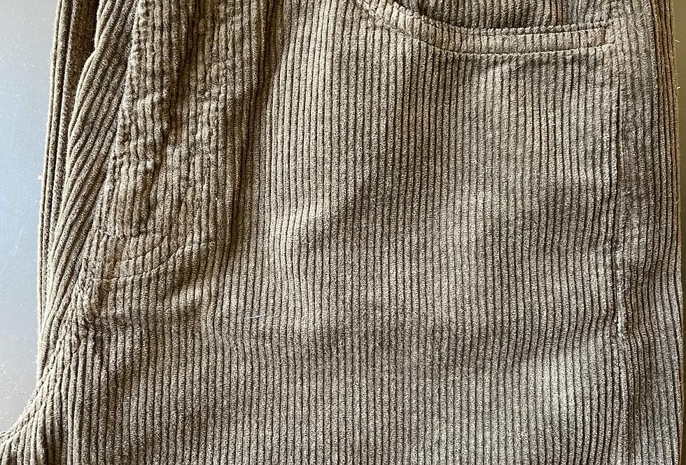 Pantalon PYLA VELOURS Ecorce
