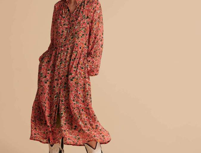 Robe FLOWER LOVE HOT PINK
