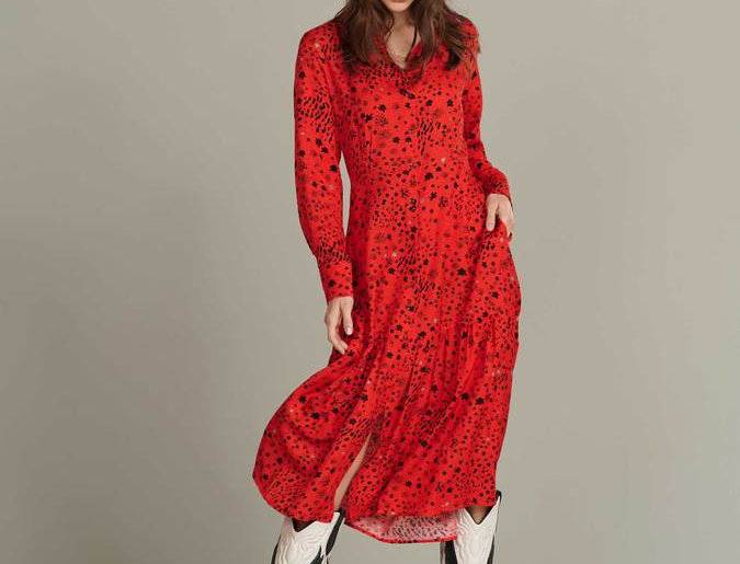 Robe CITY CHARMS HOT RED