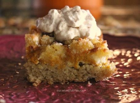 Pumpkin Pie Crumb Cake