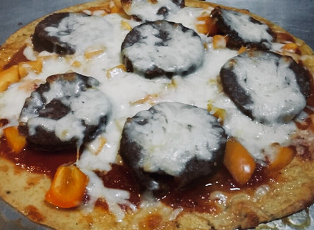 Coconut Flour Pizza -RESTART approved
