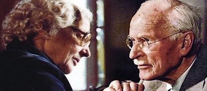Carl Gustav Jung and Marie-Louise von Franz