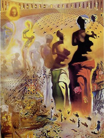 O Toureiro Alucinógeno (1968) - Salvador Dali
