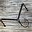 Thumbnail: Dark Oil Basketweave Patina & Copper Breast Collar