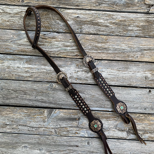 Copper & Patina Headstall