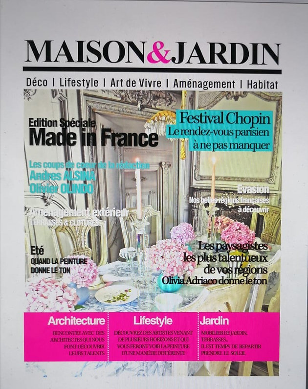 ANDRES ALSINA in Maison et Jardin | Andrés Alsina Rive Gauche ...
