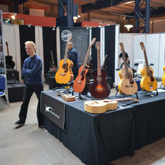 With Juha in Fuzz Guitar Show 2015