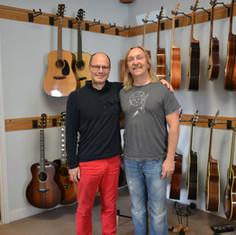 Dream Guitars, Weaverville (NC) 2013, Paul Heumiller